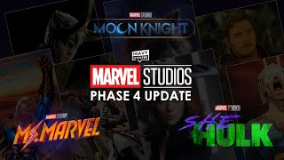 MCU OFFICIAL PHASE 4 UPDATE: She Hulk, Moon Knight, Ms. Marvel Added To Disney Plus + Kit Harrington