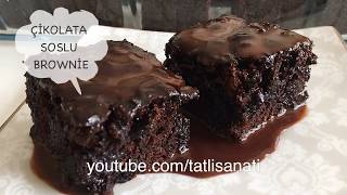 Bol Soslu Kolay Islak Kek Tarifi 👌 | Brownie Tadında | Tatlı Sanatı | Tatlı Tarifleri