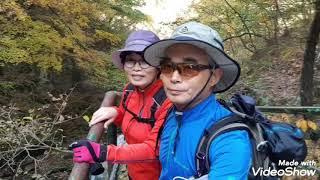 2019. 11. 3 지리산 구룡계곡 단풍입니다