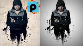 PicsArt Tutorial - efecto Derretido - picsart editing