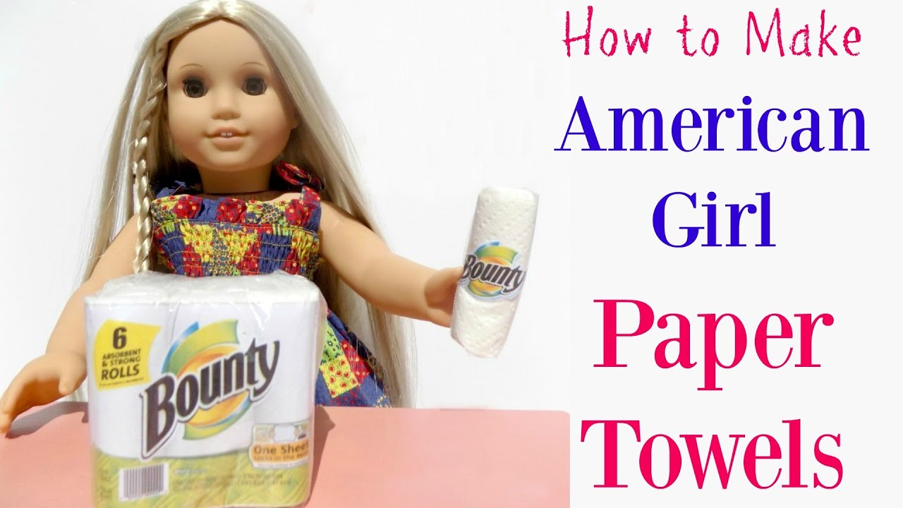 Easy Homemade American Girl Crafts