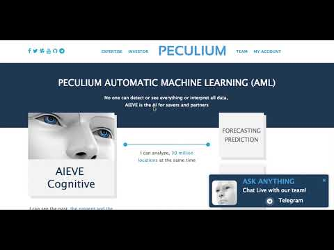 Best AI based Crypto Investment 2018 Peculium