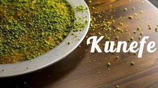 Homemade Turkish  KUNEFE recipe  4K  |  Dessert - Episode 1