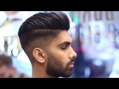 Hairstyles Tutorial 2019 , Skin Fade Pompadour , YouTube