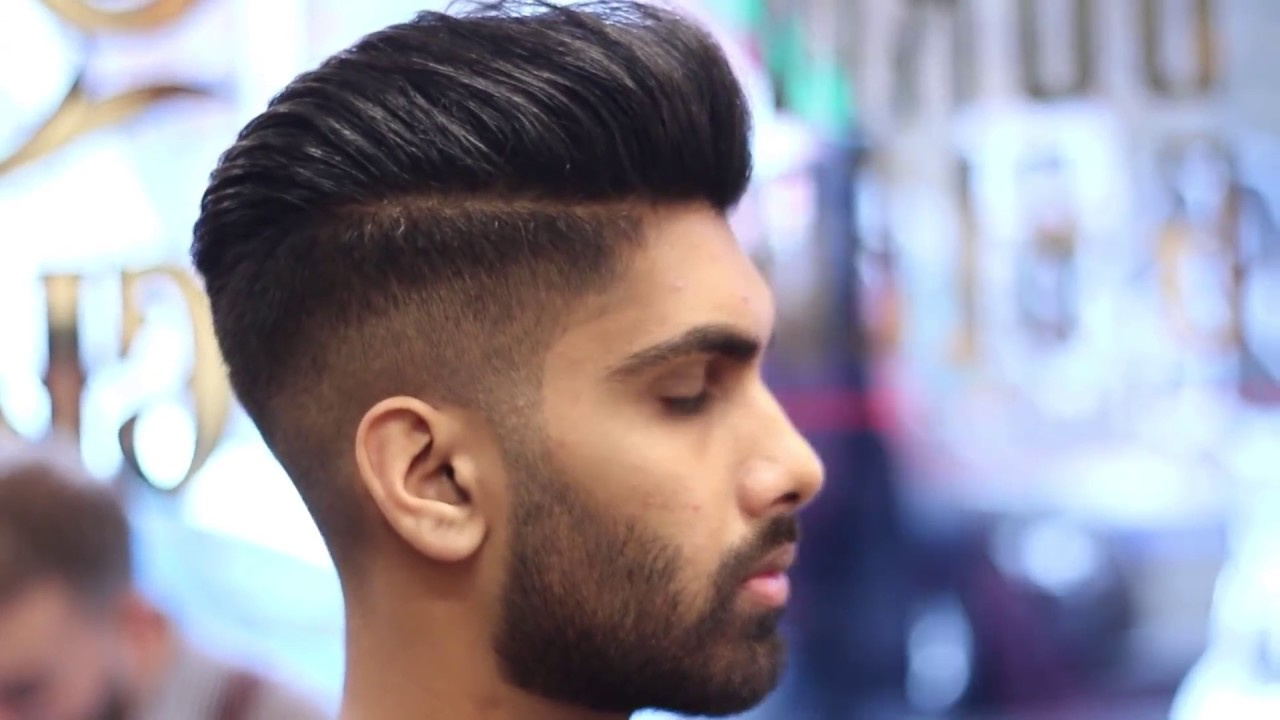 Hairstyles Tutorial 2019 , Skin Fade Pompadour