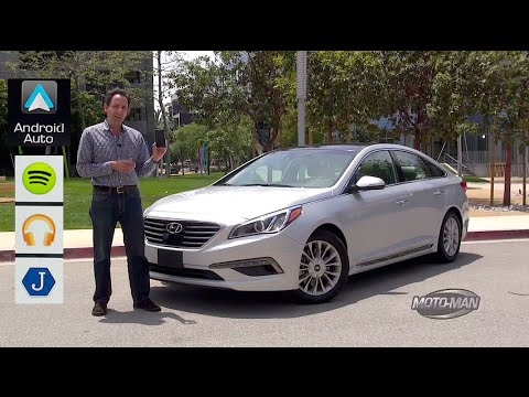 Android Auto tested in the 2015 Hyundai Sonata FIRST DRIVE & TECHNICAL REVIEW