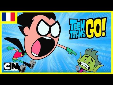 Teen Titans Go ! en français | L'anniversaire de Changelin