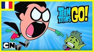 Teen Titans Go ! en français   L'anniversaire de Changelin