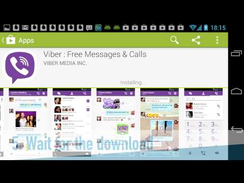 How to install Viber for Android