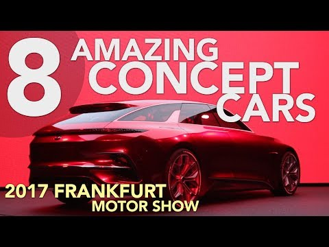 8 Best Concept Cars of the 2017 Frankfurt Motor Show