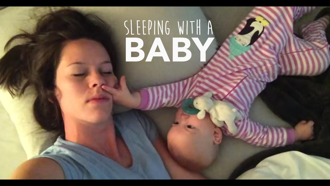 мама пытается уснуть
