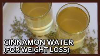 Cinnamon Water for Weight Loss | Fennel Seeds Fat Cutter Drink | Weight Loss Recipe by Healthy Kadai
