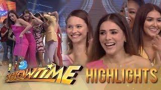 It's Showtime Cash-Ya!: Miss Universe 2014 Beauty Queens take on Cash-Ya!