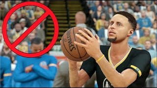 what if the golden state warriors all had 0 three point ratings nba 2k17 challenge