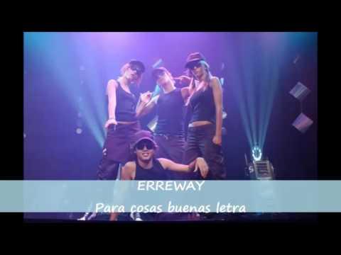 Erreway para cosas buenas letra