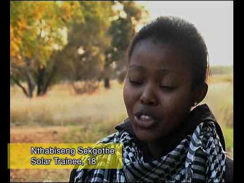 Solar Training in Jericho South Africa
