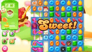 Candy Crush Jelly Saga Level 1440 (3 stars, No boosters)
