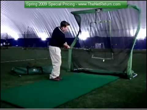 I Wanted The Best Indoor Golf Practice Net - YouTube