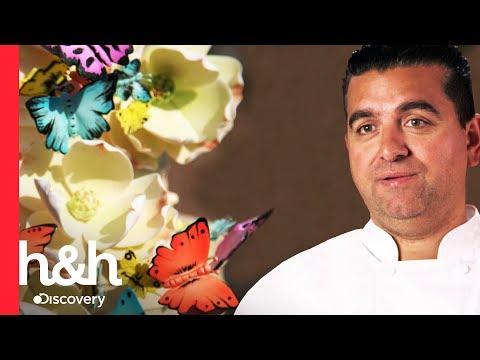 Um bolo de borboleta! | Cake Boss | Discovery H&H Brasil