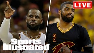 LeBron's Role After Charlottesville, Will Knicks Trade For Kyrie? | LIVE | Sports Illustrated
