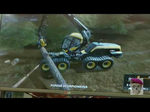 Gameplay Farming Simulator 17 en Barcelona World Games