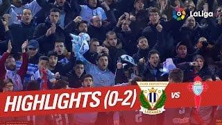 Resumen de CD Leganés vs Celta de Vigo (0-2)