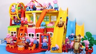 Lego House With Water Slide Building Toys - Lego Creations Toys For Kids #5