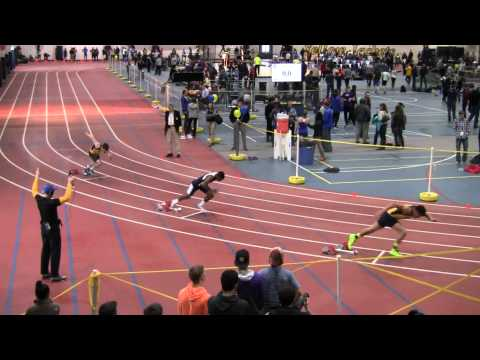Men 200 Meter Dash - NCCAA Indoor Track & Field Championships 2015