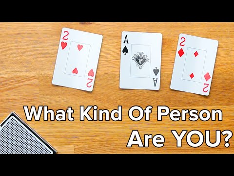 This Card Trick Will Reveal A Deep Truth To You