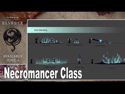 The Elder Scrolls Online: Elsweyr - Necromancer Class Reveal [HD 1080P]