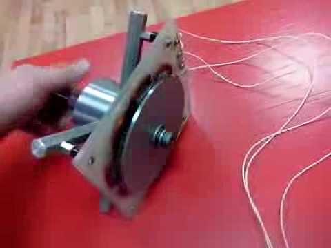 видео: Самодельный генератор для ветряка из Неодимовых магнитов ТЕСТ