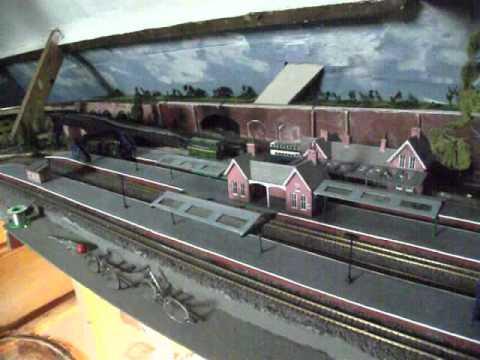 Model Railway lighting final stage