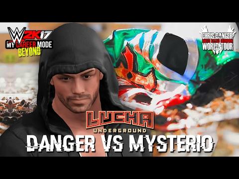 CHRIS DANGER vs REY MYSTERIO!!   WWE 2K17 My Career Mode Beyond (Ep 3)