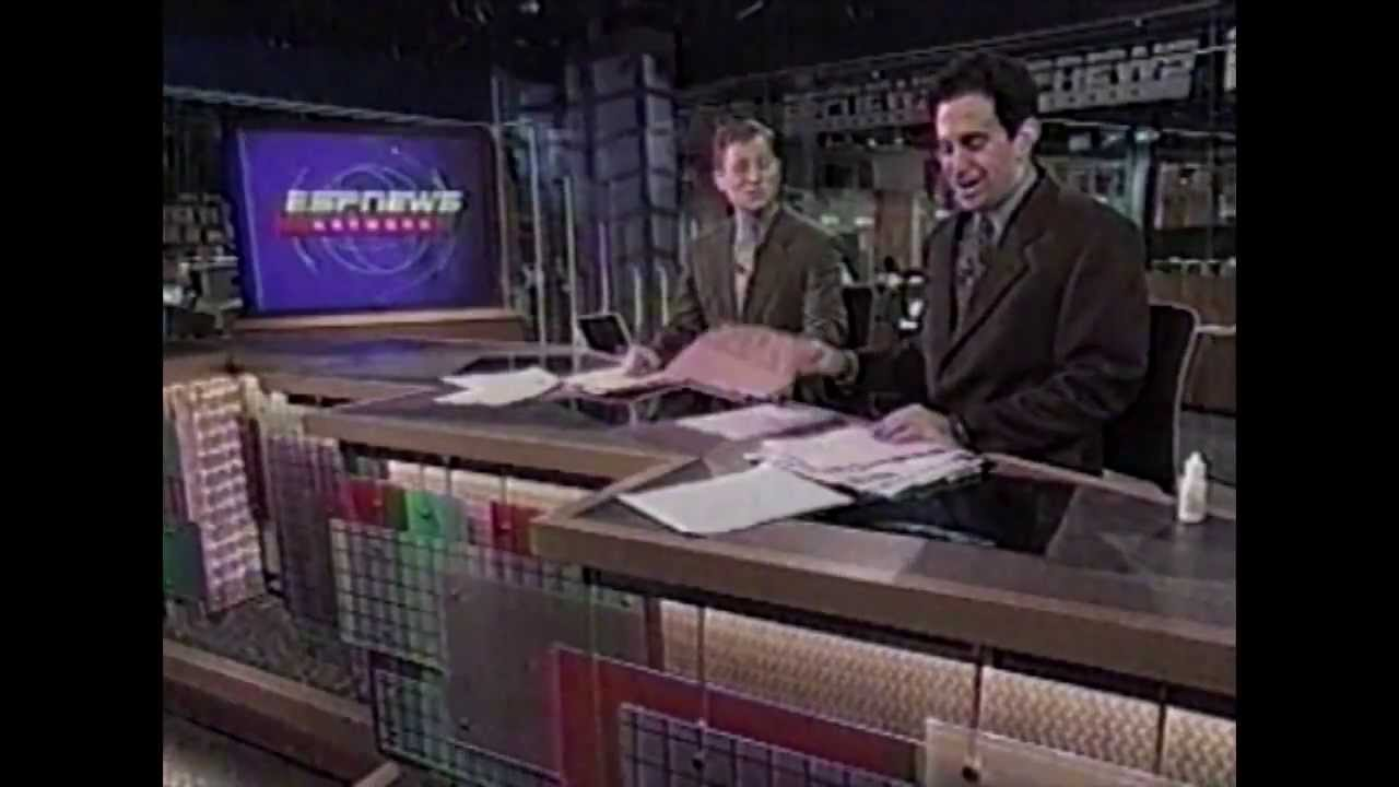 ESPNEWS - 'What A Year!' - BLOOPER REEL - Revisiting the First Year Back  From 1996