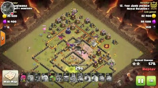Clash of Clans!!Nepal Reunion war attack