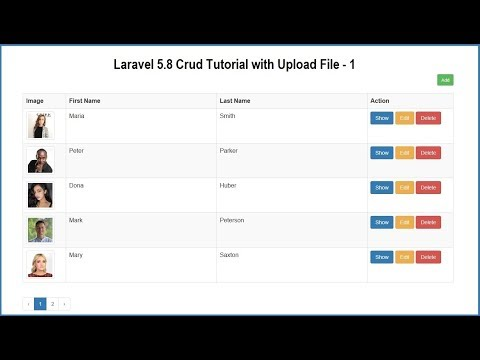 Repeat Laravel CRUD Generator (from scratch 5 8) by Devlob