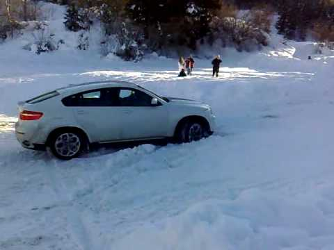 Bmw X6 Takeoff From The Snow Youtube
