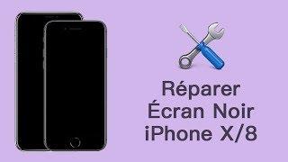 SOLUTION : comment réparer l'écran noir de l'iPhone 8/8 Plus/iPhone X