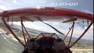 Outer Banks Biplane Air Tours: Ava and Allen Thumbnail