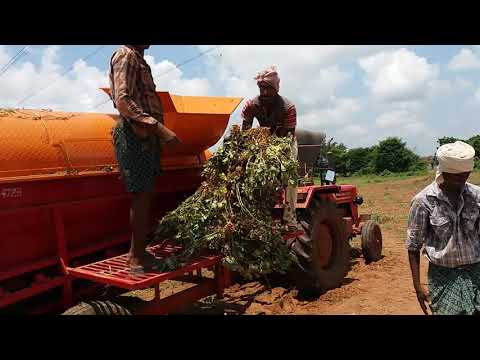 Groundnut thresher wet and dry modern multi crop by KSR AGRO INDUSTRIES