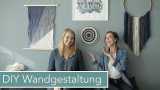 4 Wand Dekorations DIYs mit Jelena   Wandgestaltung