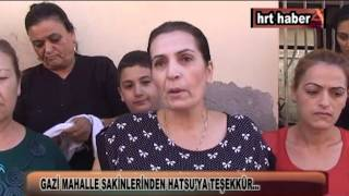 GAZİ MAHALLE SAKİNLERİNDEN HATSU'YA TEŞEKKÜR