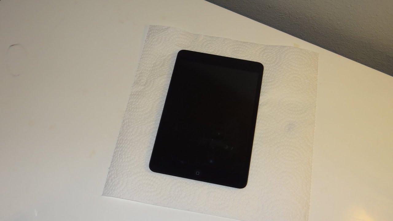 Ipad Mini Skinomi Techskin Full Body Protector Installation Tutorial