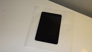 iPad Mini  Skinomi TechSkin Full Body Protector Installation Tutorial