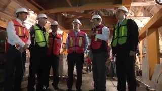 Constatan autoridades avances en construcción de Línea 3 - Periódico ABC