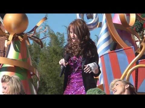 Debby Ryan -- Deck The Halls (Disney Parks Christmas Day Parade 2010 taping)