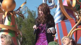 Debby Ryan -- Deck The Halls (Disney Parks Christmas Day Parade 2010 taping)