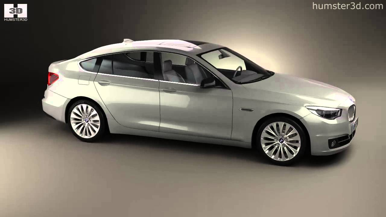 Bmw 5 Series F07 Gran Turismo 2014 By 3d Model Store Humster3dcom