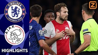 KNOTSGEK DUEL OP STAMFORD BRIDGE ???? | Chelsea vs Ajax | Champions League 2019/20 | Samenvatting