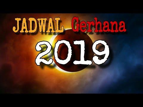 JADWAL GERHANA 2019   Daerah Mana Saja Yang Kebagian Menyaksikan